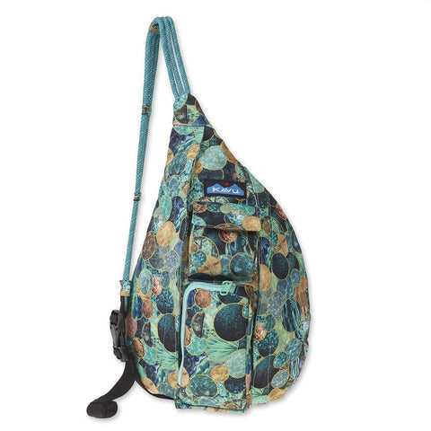 KAVU Mini Rope Sling Bag holds everything you need for a day on the go. Shop Bennetts Clothing for a large selection of KAVU bags for your next adventure.