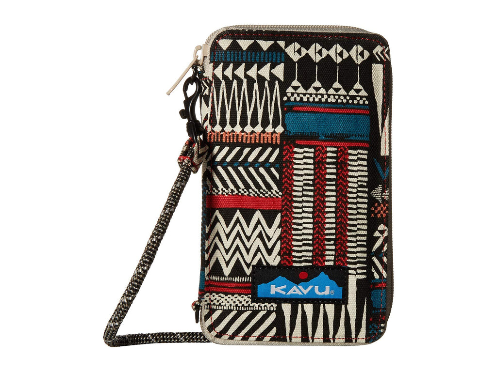 KAVU Go Time cross body bi-fold wallet is ready to go when you are. Shop Bennetts Clothing for a large selection of KAVU bags for your next adventure.