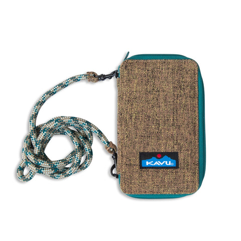 Kavu Go Time Tweed Cross Body wallet is the perfect size when you need a little extra space when travel or adventure calls. Shop Bennett's for the outdoor brands you love with the service you deserve.