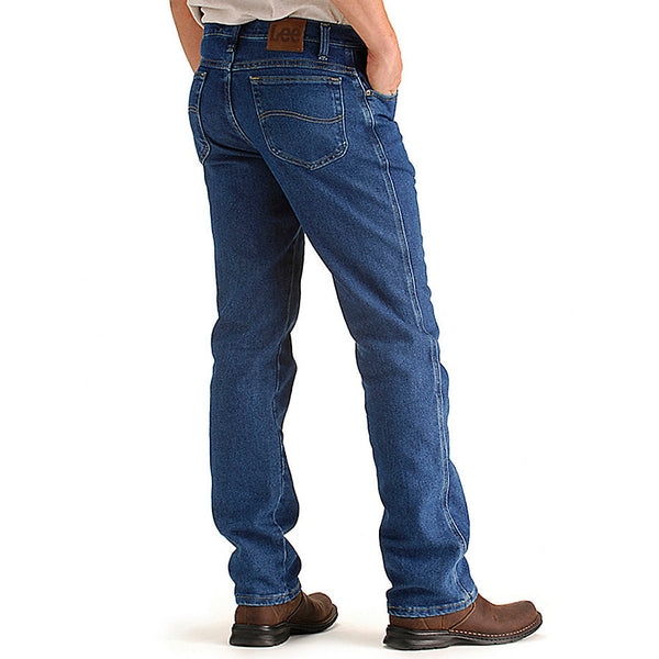 Lee Men's Regular Fit Comfort Stretch Jeans-Pepper Wash - Bennett's Clothing - 2