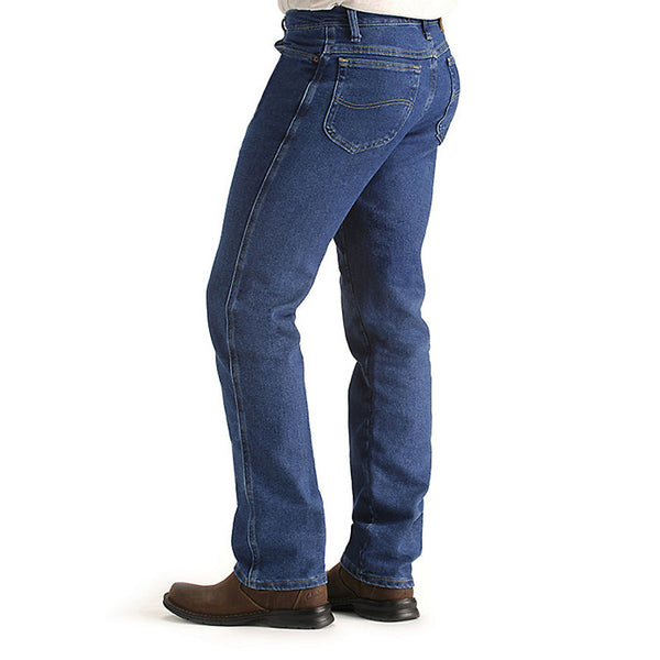 Lee Men's Regular Fit Comfort Stretch Jeans-Pepper Wash - Bennett's Clothing - 3