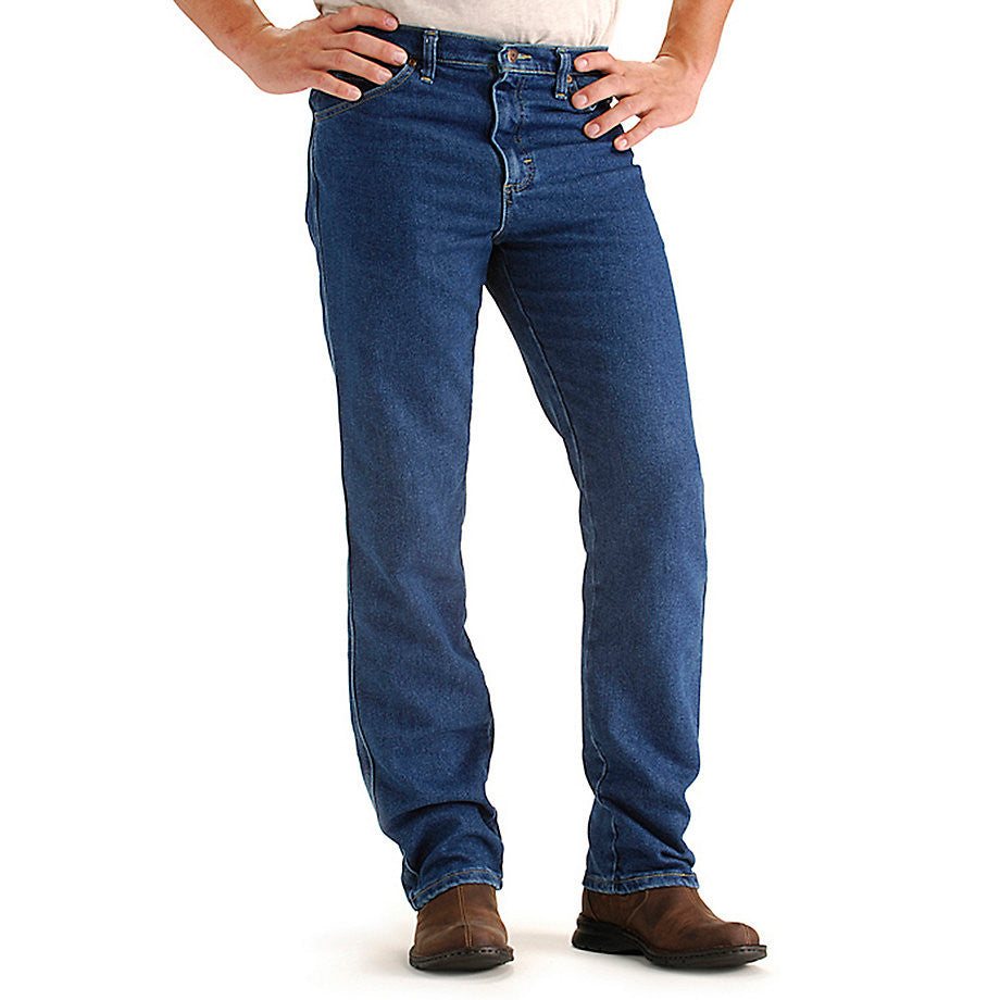 Lee Men's Regular Fit Comfort Stretch Jeans-Pepper Wash - Bennett's Clothing - 1