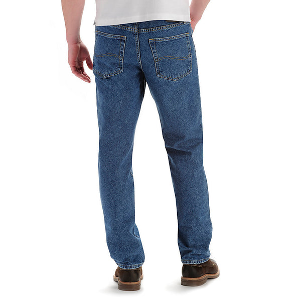 Lee Men's Regular Fit Straight Leg Jeans-Pepperstone - Bennett's Clothing - 2
