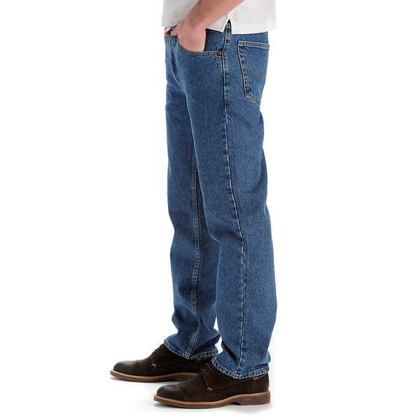 Lee Men's Regular Fit Straight Leg Jeans-Pepperstone - Bennett's Clothing - 3