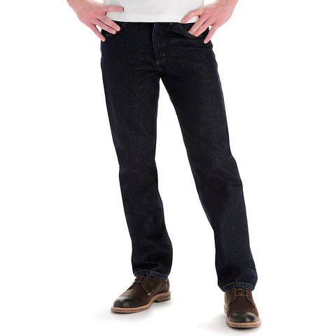 Lee Men's Regular Fit Straight Leg Jeans-Pepperwash - Bennett's Clothing - 1