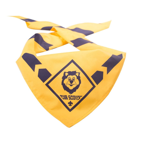 Lion Cub Scout Neckerchief-Yellow