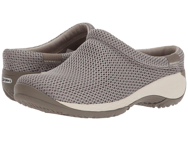 Merrell Encore Q2 Breeze slip-on clog is a comfortable, customer favorite shoe. Shop Bennetts Clothing for outdoor shoes from the brands you love and trust.