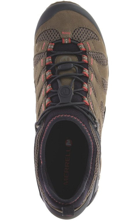 de24895c Merrell Mens Chameleon 7 Stretch Waterproof Hiking Shoe-Boulder