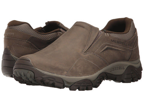 Mens Merrell MOAB Adventure slip-on Moc. Shop Bennetts Clothing for a great selection of outdoor footwear with same day shipping
