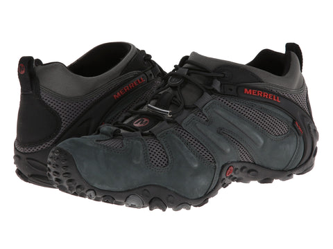Merrell Mens Chameleon Prime Stretch Hiking Shoe-Granite