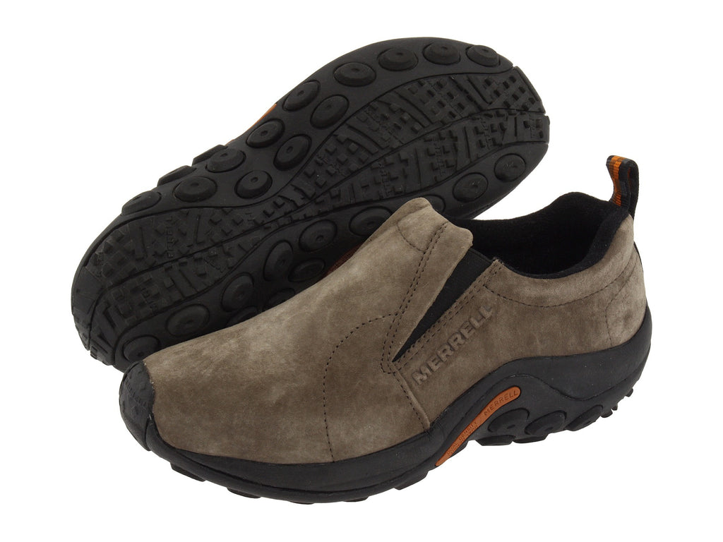 Merrell Jungle Moc Slip-on shoe takes your outdoor comfort to the next level. Shop Bennetts Clothing and receive same day shipping and top notch customer service
