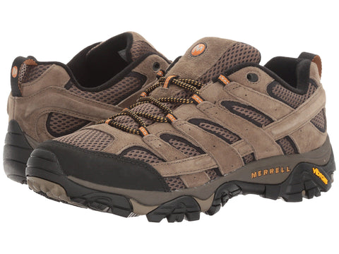 Merrell Mens Moab 2 Vent Hiking Shoe-Walnut