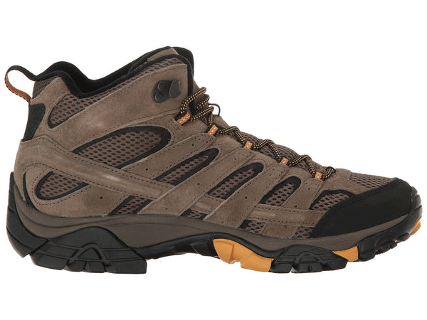 Merrell Mens Moab 2 Vent Mid Hiking Boot-Walnut