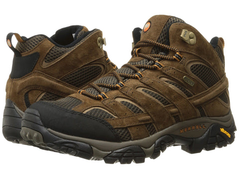 Mens Merrell MOAB 2 Mid Waterproof Hiking boot -Shop Bennetts Clothing for a great selection of outdoor footwear with same day shipping