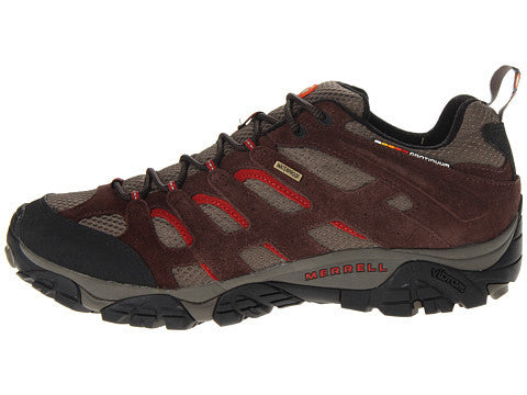 Merrell Mens Moab Waterproof Hiking Shoes-Espresso - Bennett's Clothing - 2