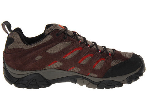 Merrell Mens Moab Waterproof Hiking Shoes-Espresso - Bennett's Clothing - 4