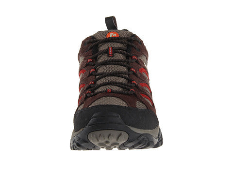 Merrell Mens Moab Waterproof Hiking Shoes-Espresso - Bennett's Clothing - 5