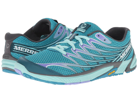 Merrell Womens Bare Access Arc 4 Trail Running Shoe-Algiers-Purple - Bennett's Clothing - 1