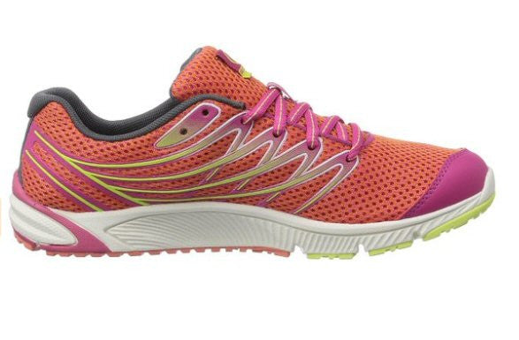 Merrell Womens Bare Access Arc 4 Trail Running Shoe-Coral-Fuchsia - Bennett's Clothing - 2