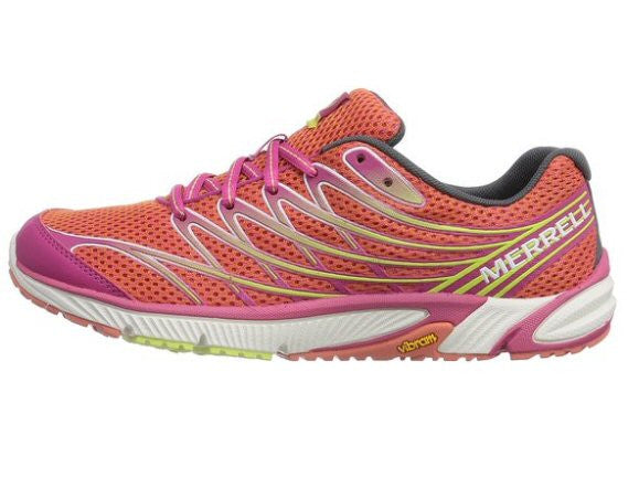 Merrell Womens Bare Access Arc 4 Trail Running Shoe-Coral-Fuchsia - Bennett's Clothing - 4