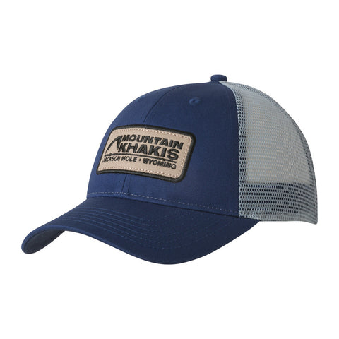 Copy of Mountain Khakis Soul Patch Trucker Cap-Indigo