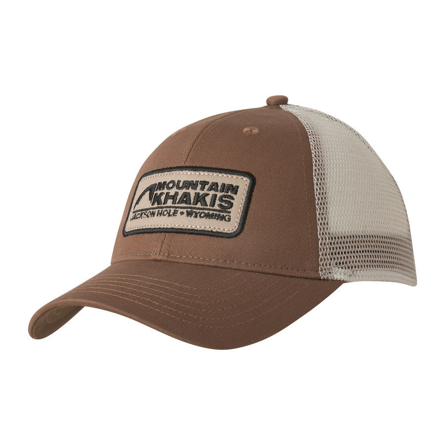 Mountain Khakis Soul Patch Trucker Cap-Legacy Brown
