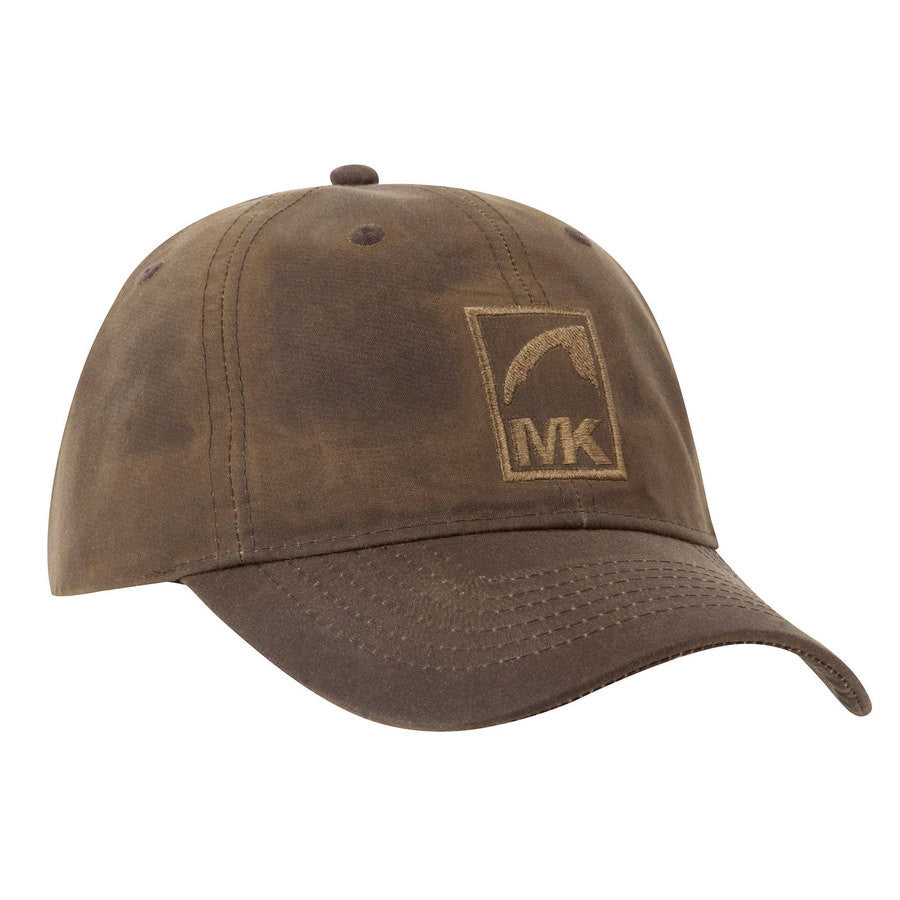 Mountain Khakis Waxed Cotton Cap-Dark Brown