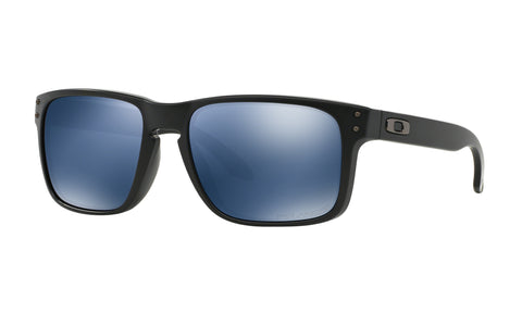 Oakley Holbrook-Matte Black-Ice Iridium Polarized