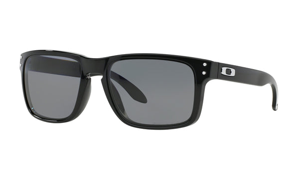 Oakley Holbrook-Polished Black-Gray Polarized