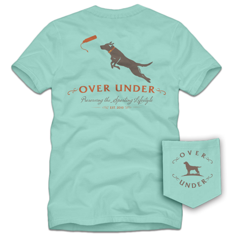 Over Under Dock Dog t-shirt is unique and as southern as the gentleman that wears it. Shop Bennett's Clothing for the Southern brands you love with same day shipping and top notch customer service.