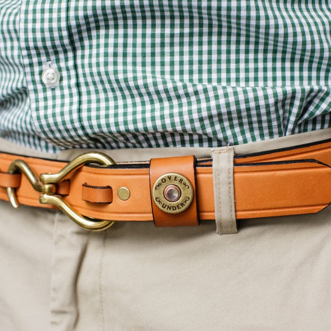 Over Under Hoof Pick Belt is unique and as southern as the gentleman that wear them. Shop Bennett's Clothing for the brands you want with the customer service you deserve.