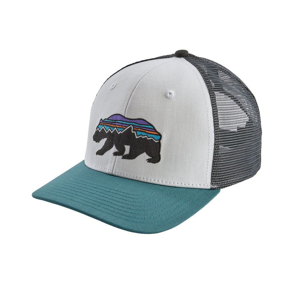 Patagonia Fitz Roy Bear Trucker hats are the latest in cool headwear. Shop Bennetts Clothing for a large selection of name brand outdoor clothing