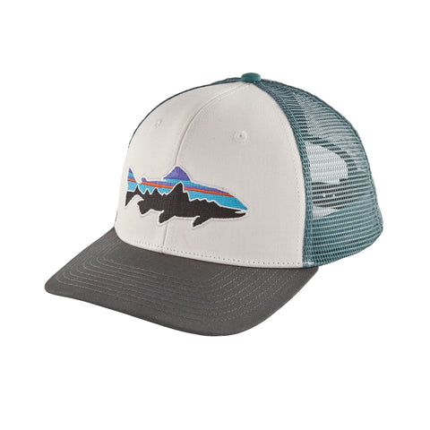 Patagonia Fitz Roy Trout Trucker hats look great on the stream or the street. Shop Bennetts Clothing for a large selection of name brand outdoor clothing