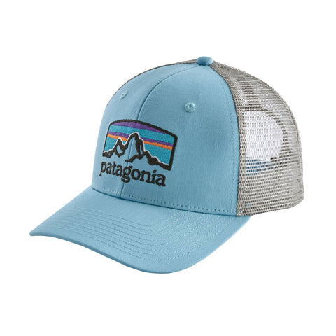 Patagonia Fitz Roy Horizons Trucker hat will keep you in-style from sunrise to sunset and beyond. Shop Bennetts Clothing for a large selection of name brand outdoor clothing