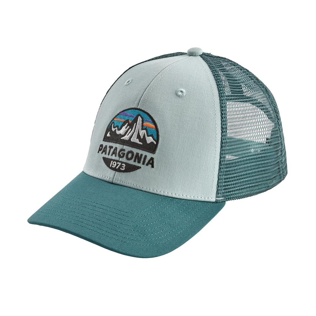 Patagonia Fitz Roy Trucker hats are the latest in cool hats. Shop Bennetts Clothing for a large selection of name brand outdoor clothing