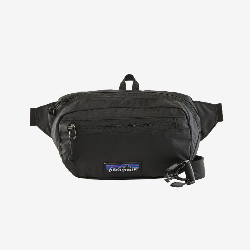 Patagonia Ultralight Black Hole hip pack will stow your small items when you're on the go. Shop Bennetts Clothing for a large selection of name brand outdoor gear.