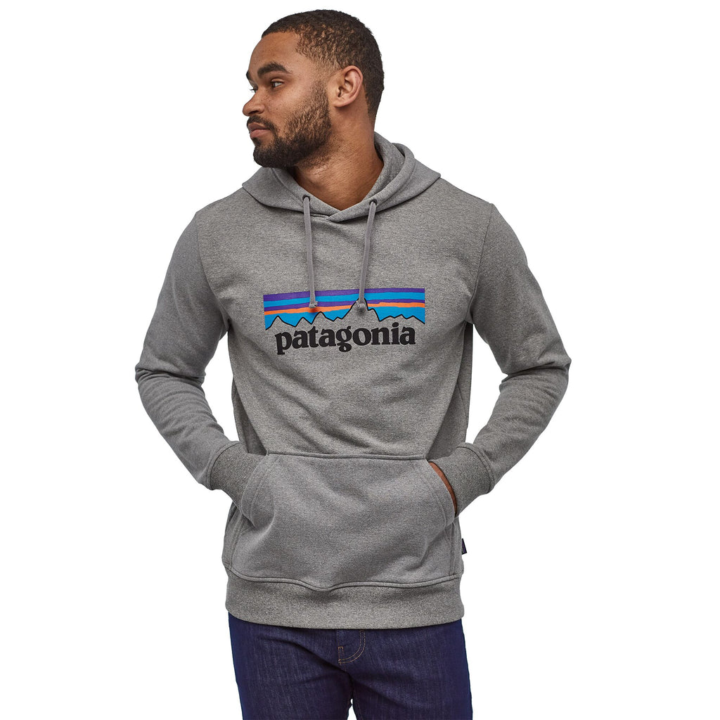 Patagonia P 6 Logo Uprisal Hoody Gravel Heather
