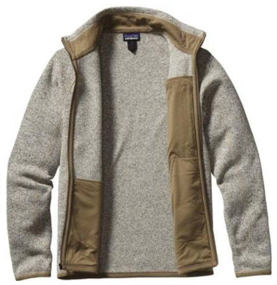 Patagonia Mens Better Sweater Fleece Jacket-Bleached Stonewash