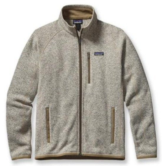 Patagonia Mens Better Sweater Fleece Jacket Bleached