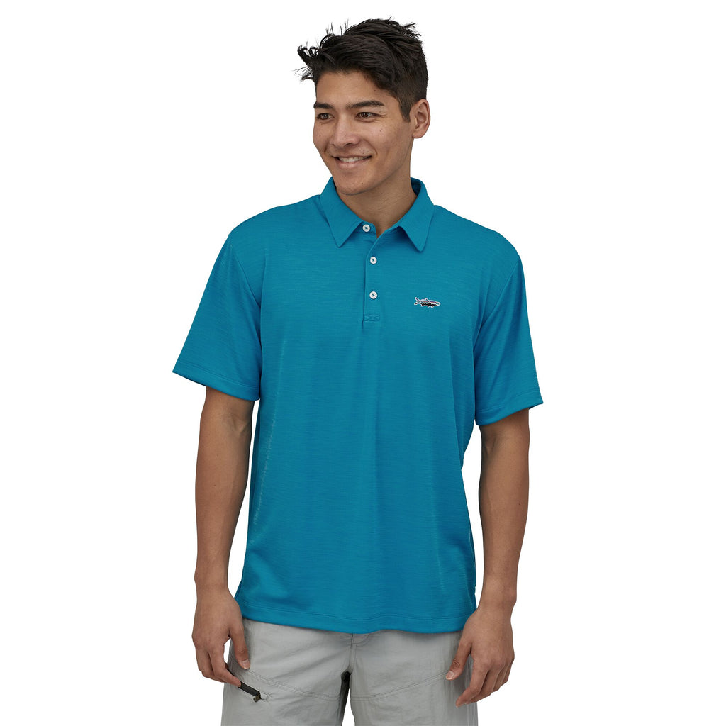 Patagonia Fitz Roy Sunshade Polo shirt for men is super cool and comfortable and ready for life's adventures. Shop Bennett's for the brands you want at prices you will love.