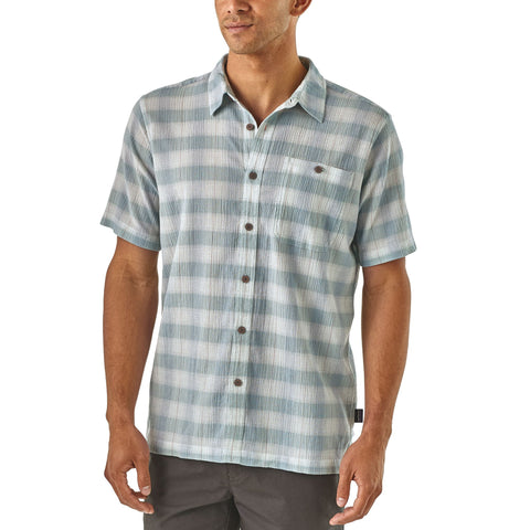 Patagonia A/C Shirt keeps you cool and looks great with khakis for the office or shorts for a casual evening out. Shop Bennetts Clothing for a large selection of name brand outdoor clothing