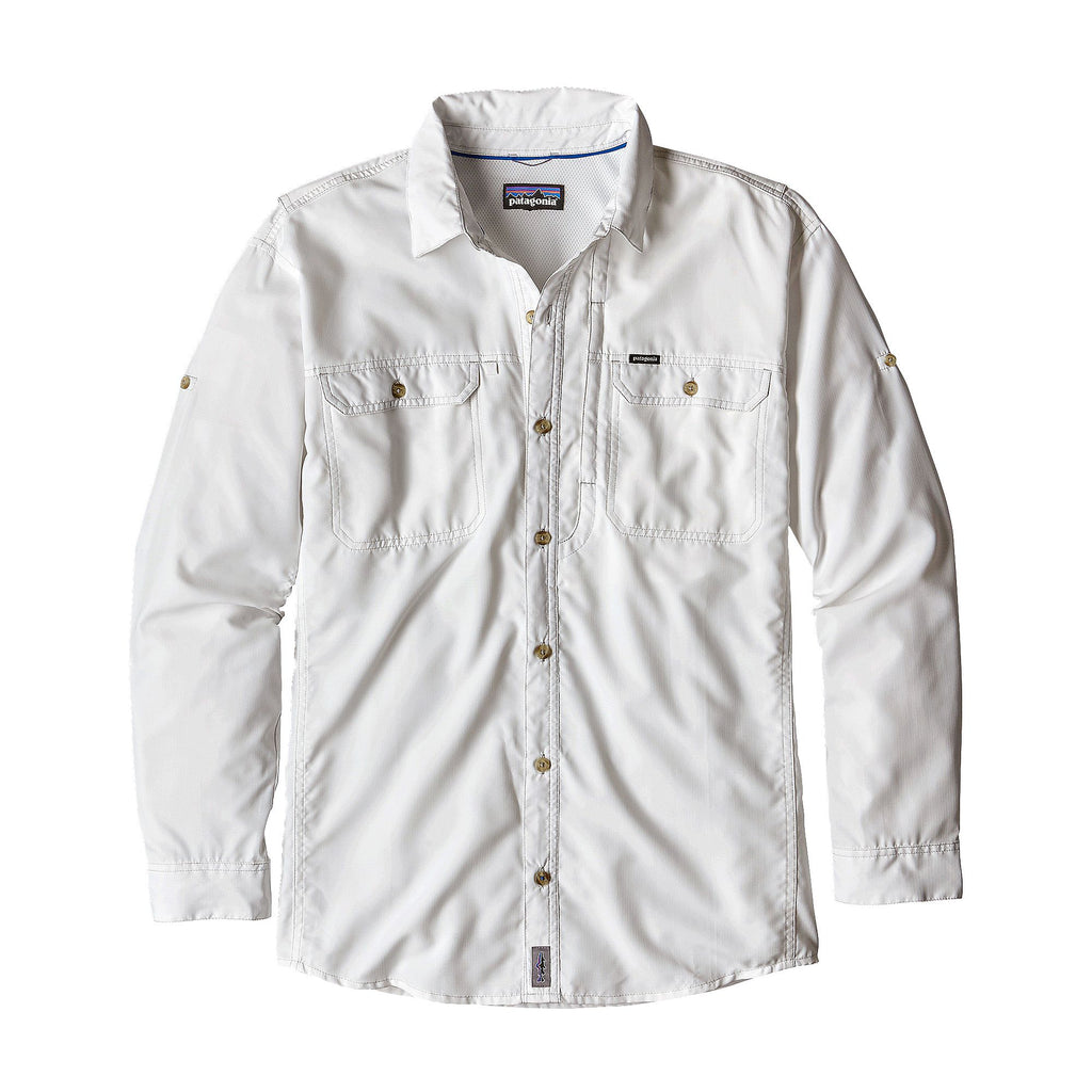 Patagonia M's Sol II Patrol Long Sleeve Shirt-White