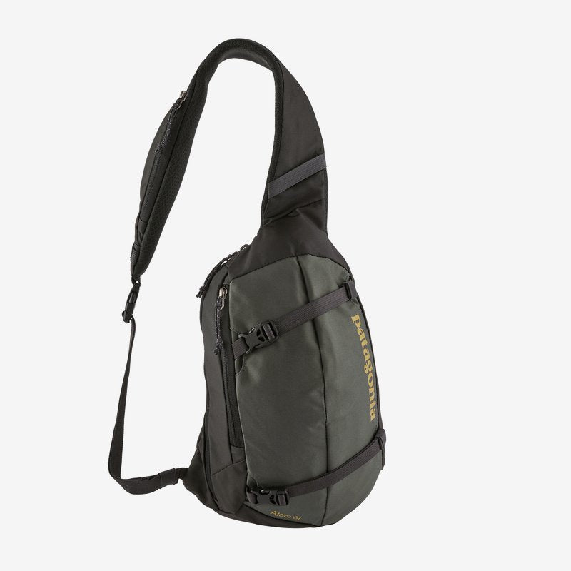 Patagonia Atom 8L Sling pack will keep you organised when you're on the go. Shop Bennetts Clothing for a large selection of name brand outdoor gear.