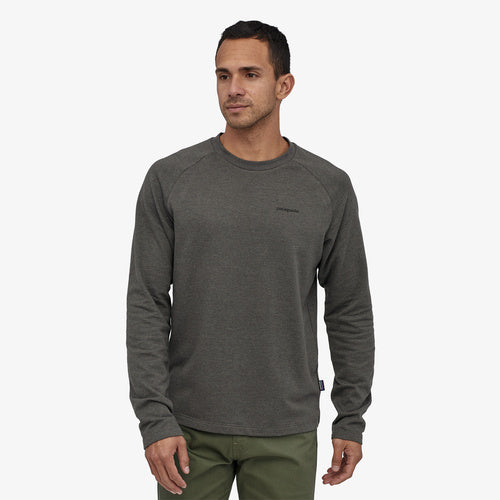 Patagonia P-6 Logo Lightweight Sweatshirt-Forge Grey