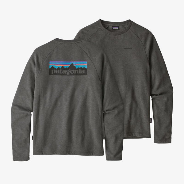 Patagonia P-6 Logo Sweatshirt is lightweight and so comfortable. Shop Bennett's Clothing for a large selection of name brand outdoor clothing from the brand you know and love.