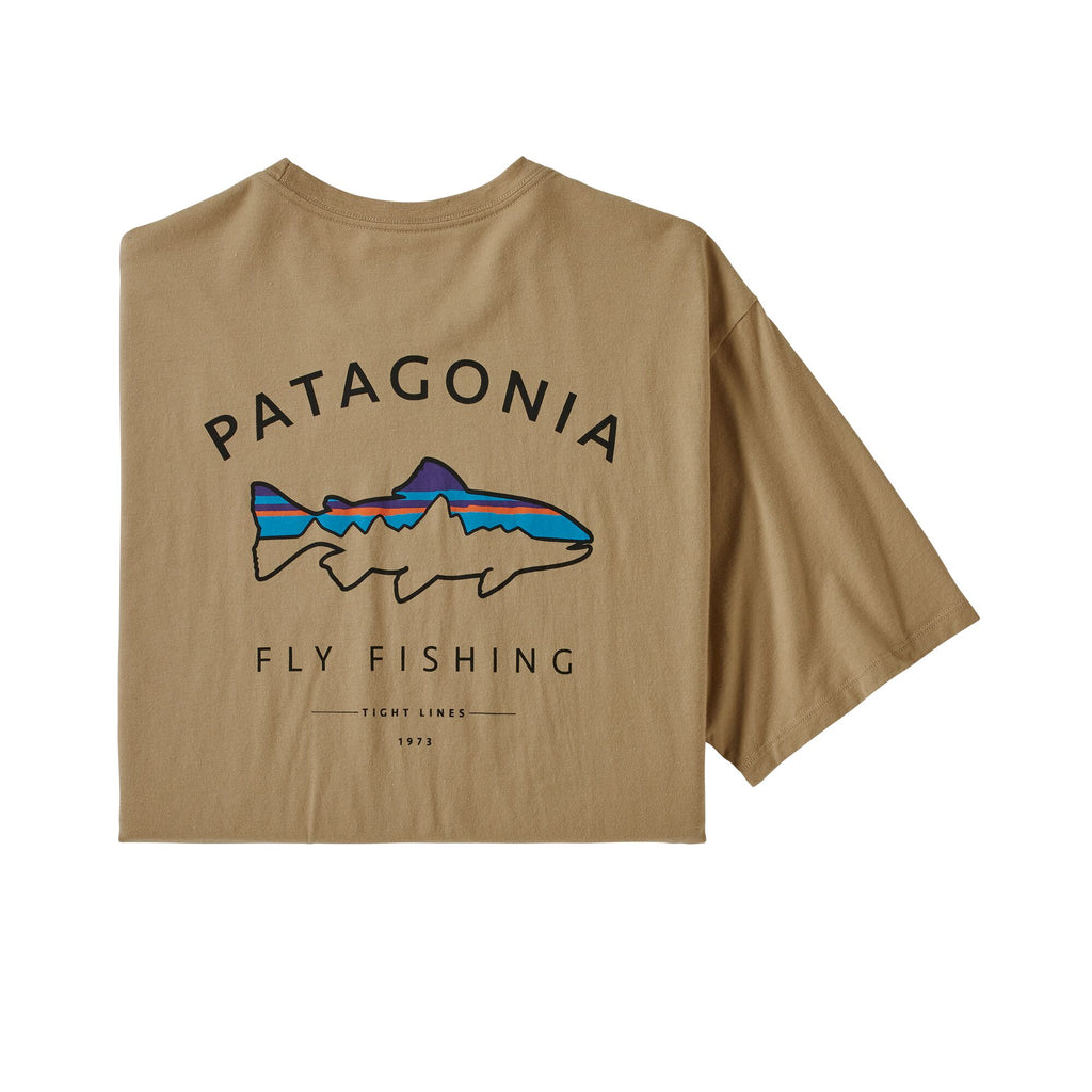Patagonia Fitz Roy Trout Organic Pocket T-Shirt has classic outdoor style. Shop Bennett's for the best in outdoor brands with great prices and service.