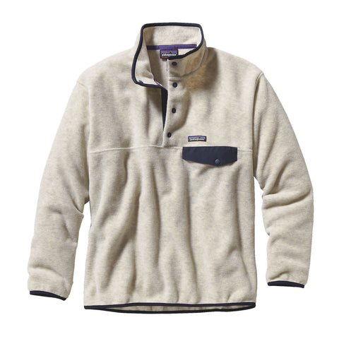 Patagonia Mens Synch Snap-T Pullover-Oatmeal - Bennett's Clothing