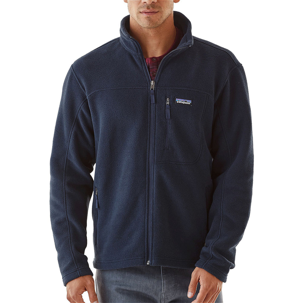 Patagonia Men's Classic Synchilla Jacket-Navy Blue