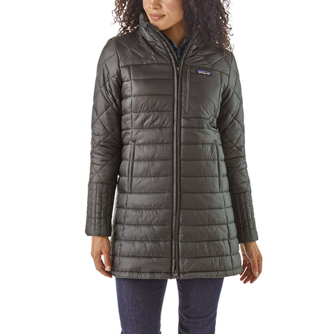 Patagonia Radalie Parka for women keeps you warm in the wind and cold -Shop Bennetts Clothing for a large selection of womens outerwear and boots with same day shipping