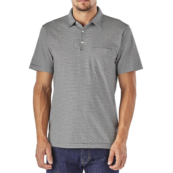 Patagonia M's Squeaky Clean Polo-Black - Bennett's Clothing - 2